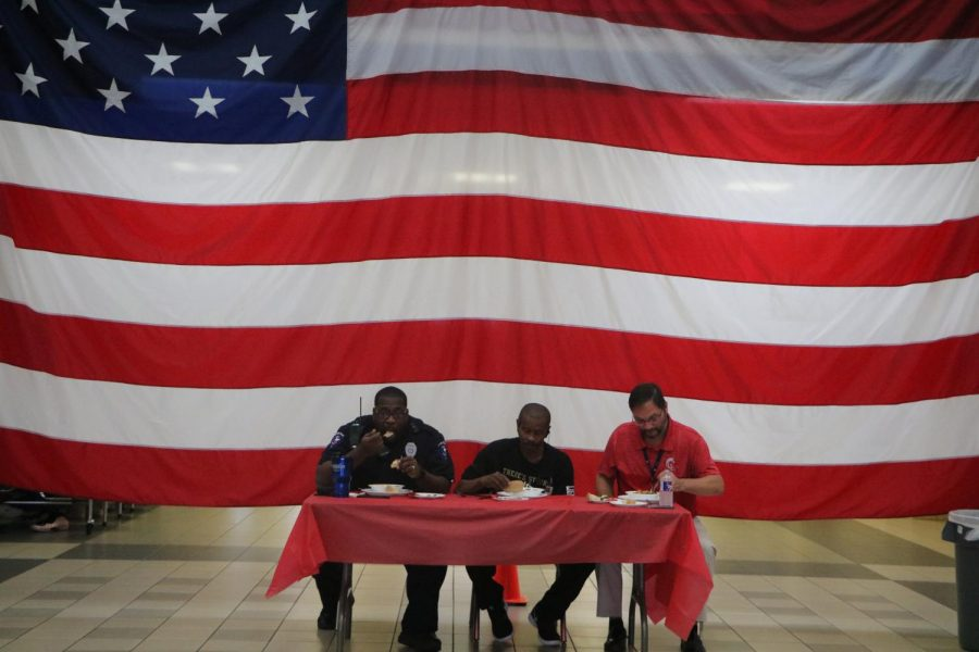 Veteran Staff Members Celebrated with Special Lunch Cooked by Culinary Students