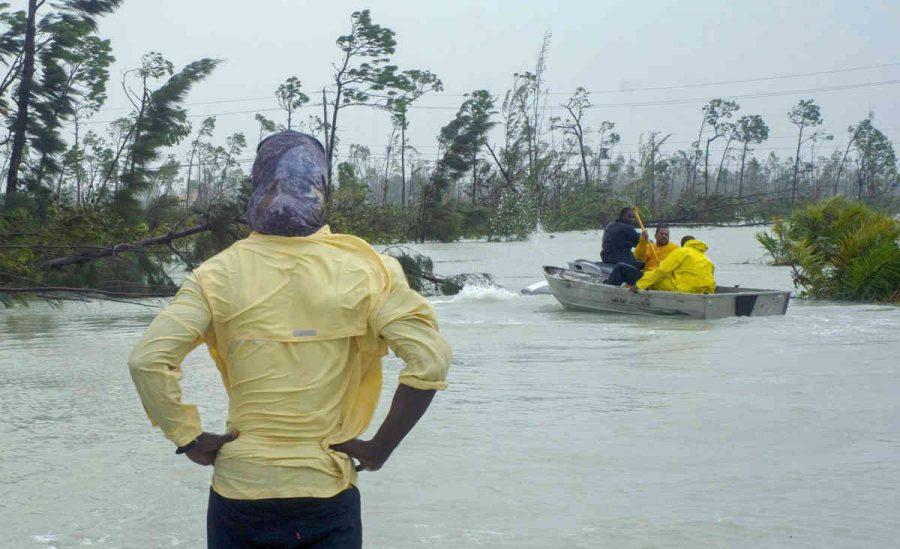 Hurricane Dorian Bares Down